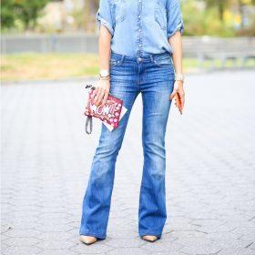 Bootcut jeans til kvinder