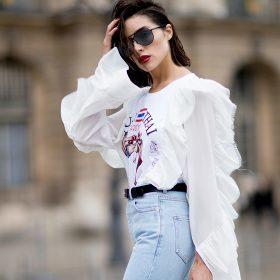 High Waist Jeans til Kvinder