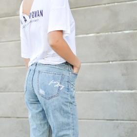 Straight Jeans til Kvinder