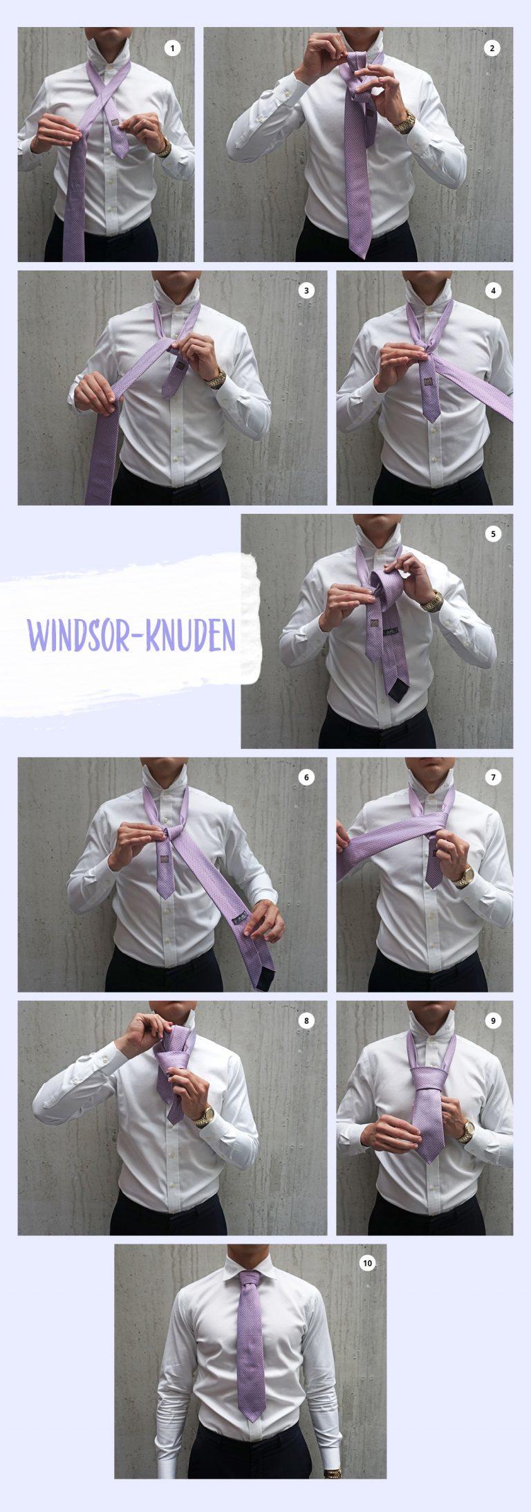 binde slips, slipseguide