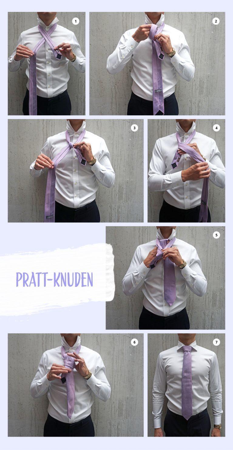 lær at binde slips