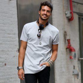 Basis t-shirts til mænd