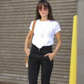 3 sort/hvid outfits for sommer
