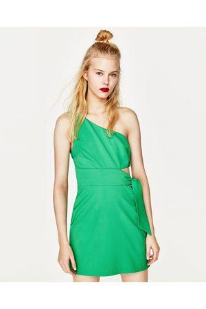 Kvinder Asymmetriske kjoler - Zara ASYMMETRISK KJOLE