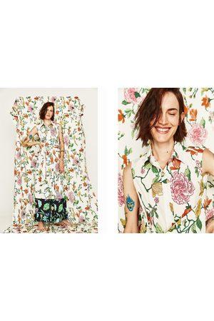 Kvinder Mønstrede kjoler - Zara Mønstret tunika