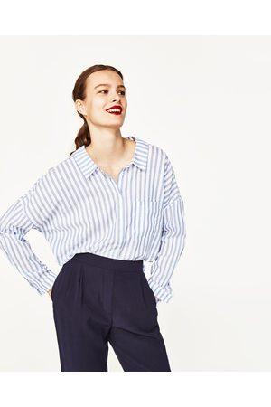 Kvinder Habitbukser - Zara ANKELBUKSER RELAXED FIT - Fås i flere farver