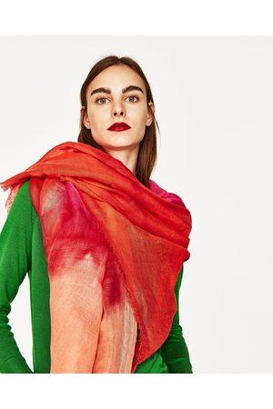 Kvinder Tørklæder - Zara BATIKFARVET TØRKLÆDE I HØR - Fås i flere farver