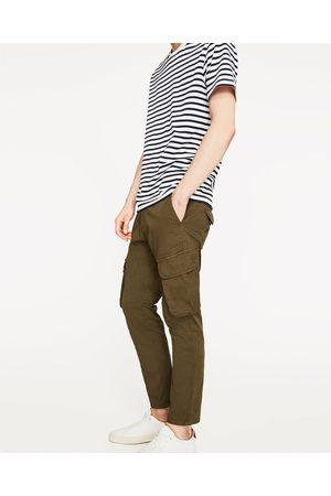 Mænd Cargo bukser - Zara CARGOBUKSER - Fås i flere farver