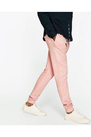 Mænd Joggingbukser - Zara FARVEDE JOGGINGBUKSER - Fås i flere farver