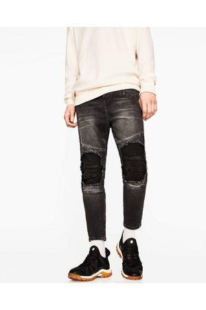 Mænd Slim & Skinny bukser - Zara DENIM BUKSER SKINNY FIT