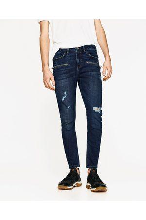 Mænd Skinny - Zara JEANS SKINNY FIT - Fås i flere farver