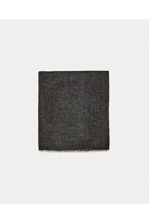 Mænd Accessories - Zara ENSFARVET FOULARD - Fås i flere farver
