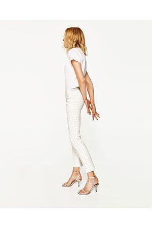 Kvinder Habitbukser - Zara SKINNY FIT BUKSER MED STRETCH-LINNING - Fås i flere farver