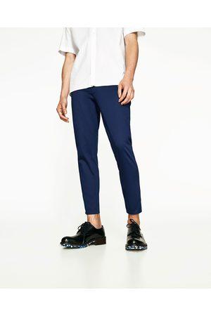 Zara CROPPED CHINOBUKSER - Fås i flere farver