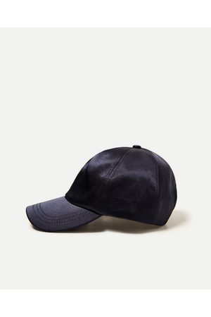 Zara CAP MED SLOGAN - Fås i flere farver