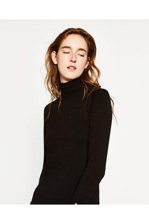 Kvinder Strik - Zara Sweater med rullekrave - Fås i flere farver
