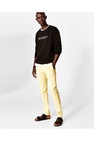 Mænd Slim & Skinny bukser - Zara CHINOBUKSER SKINNY FIT - Fås i flere farver
