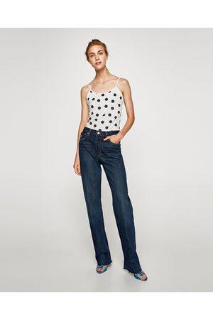 Zara T-SHIRT MED TYNDE STROPPER - Fås i flere farver