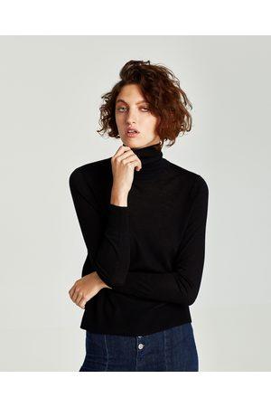 Zara Sweater med rullekrave - Fås i flere farver
