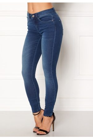 Only Royal Skinny Jeans Medium Blue Denim L/34