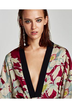 Kvinder Kimonos - Gebeana BLOMSTRET KIMONO