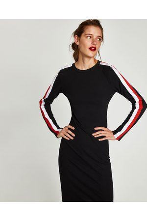 Zara TUBEKJOLE MED STRIBER I SIDERNE - Fås i flere farver