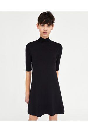 Zara DRESS WITH SEQUINNED CUFFS