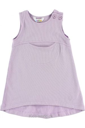 Kjoler - Joha Kjole - Bomuld - Lavendel m. Lommer