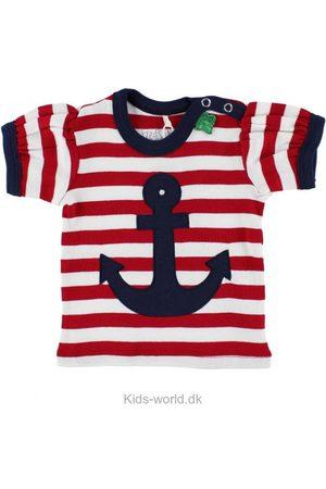 Freds World T-shirt - /Hvidstribet m. Anker