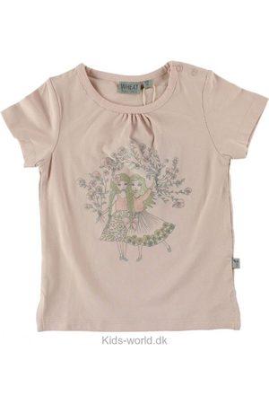 Kortærmede - WHEAT T-Shirt - Pudderrosa m. Piger
