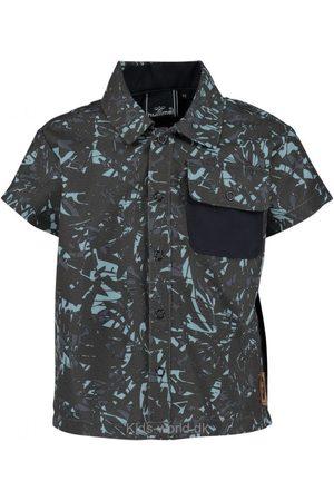 Skjorter - Hummel Skjorte - UV50 - Saxo - Koksgrå/Lyseblå