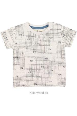 Small Rags T-shirt - Creme m. Mønster