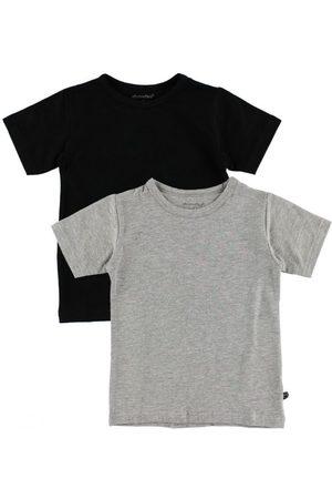 Drenge Kortærmede - Minymo 2-pak T-shirt - / meleret