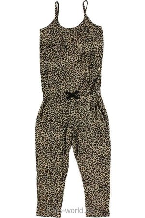 Buksedragt - Leopardprint