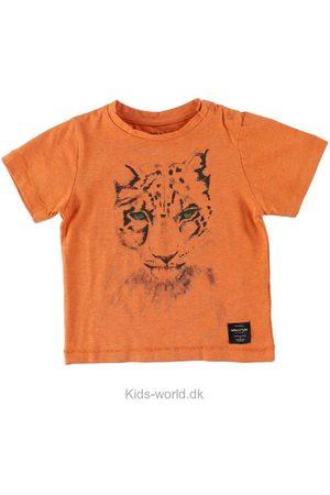 Kortærmede - Mini A Ture T-Shirts - Legolas - Orangemeleret m. Leopard