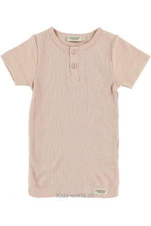 T-shirt - Rib - Rosa