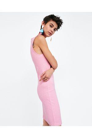 Zara TEXTURED SHIFT DRESS