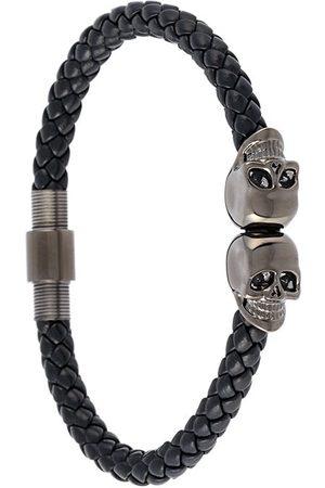 NORTHSKULL Braided skull bracelet