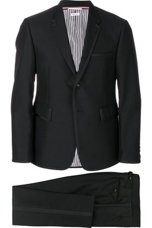 Thom Browne Grosgrain Tipping Tuxedo With Bow Tie