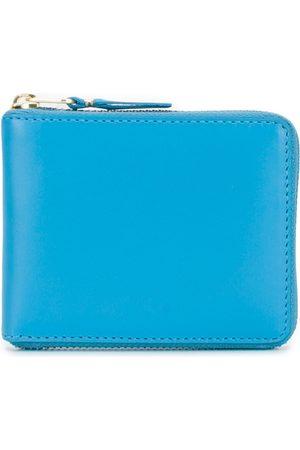 Comme des Garçons Blue Leather Wallet
