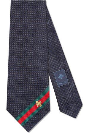 Gucci Bee Web tie