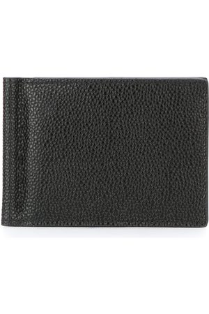 Thom Browne Mænd Punge - Money Clip Wallet In Black Pebble Grain