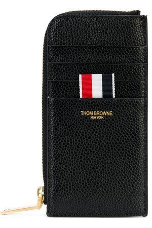 Thom Browne Pung i nopret læder med lynlås