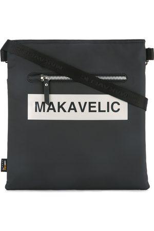 Makavelic Ludus box logo shoulder bag