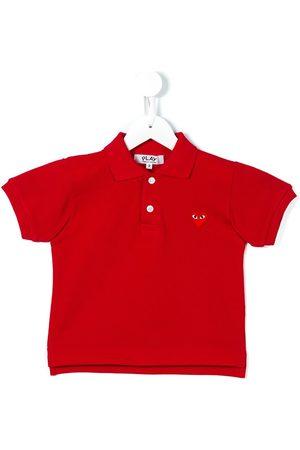 Comme des Garçons Heart logo polo shirt