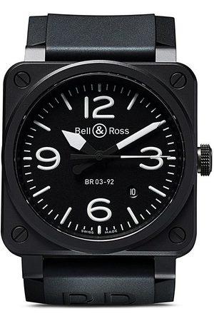 Bell & Ross Mænd Ure - BR 03-92 Diver Matte Black 42mm-armbåndsur
