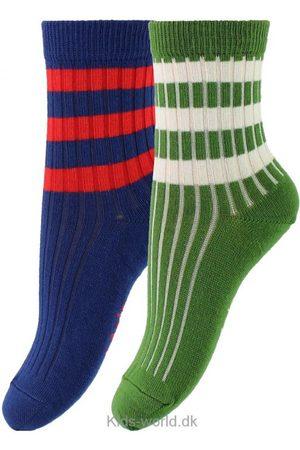 Molo Strømper & Sokker - 2-pak Strømper - Nickey - /Mørkeblå