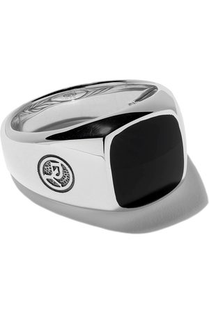 David Yurman Exotic Stone onyx signet ring
