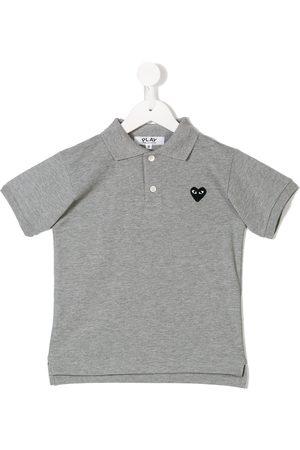 Comme des Garçons Heart polo shirt