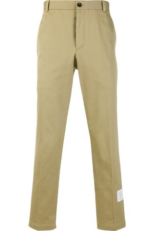 Thom Browne Cotton Twill Unconstructed Chino Trouser